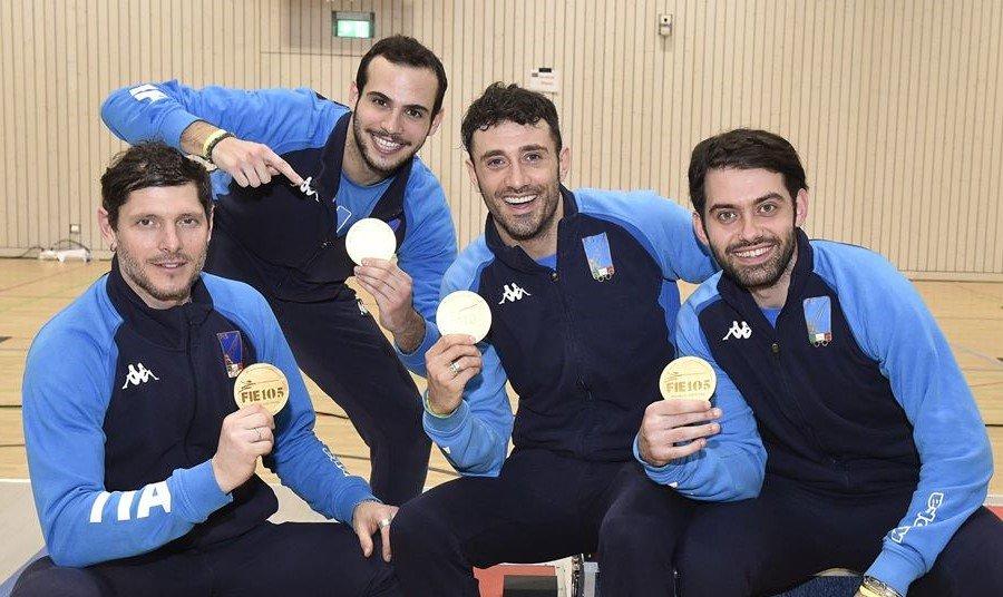 SCIABOLA: Coppa del Mondo maschile – Lussemburgo