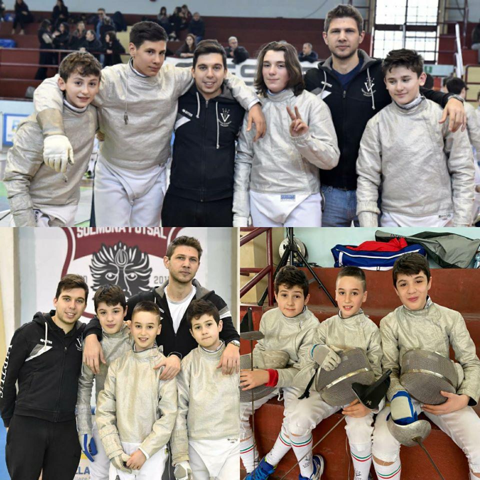 SCIABOLA – Under 14: Campionati Italiani a squadre